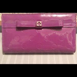 Kate Spade full bill wallet